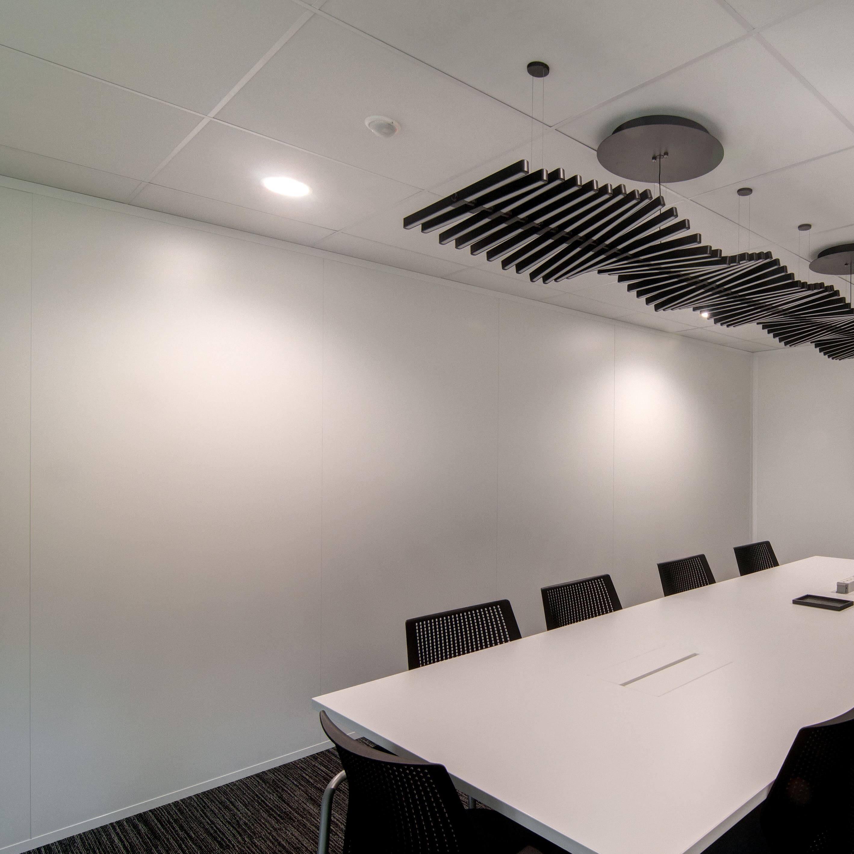 Cloisons amovibles pleines bord à bord pour votre salle de réunion
