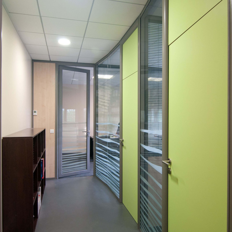 Porte bois verte pour donner du pep's à vos bureaux