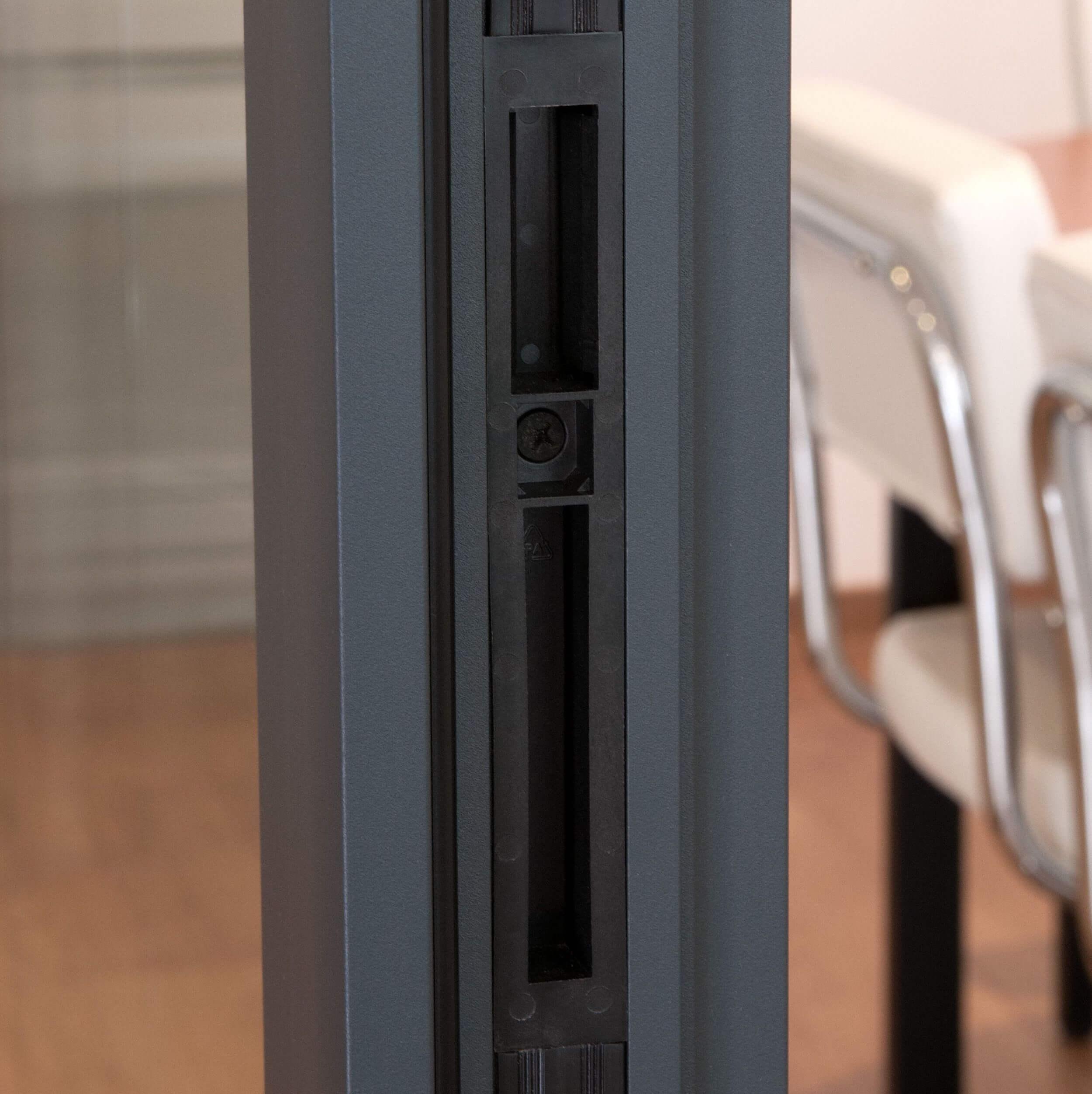Gâche (sur huisserie) : fermez la porte de votre cloison