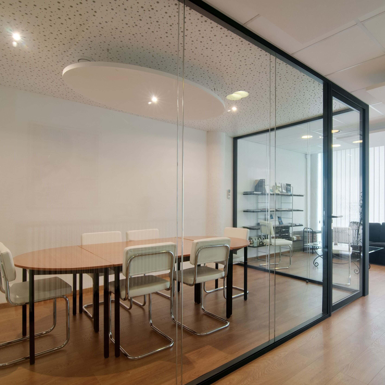 Cloisons vitrées bord à bord & salle de réunion